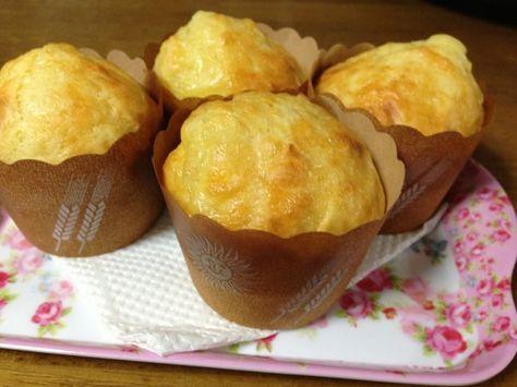 手軽な朝食にも!ホットケーキミックスで作るチーズマフィンの作り方 | nanapi [ナナピ]
