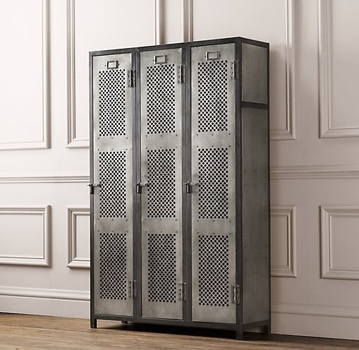 RH Baby U0026 Childu0027s Vintage Locker Perforated Cabinet:As Sturdy As The  All American Originals That Inspired It, The Vintage Locker Collection Has  Authentic ...