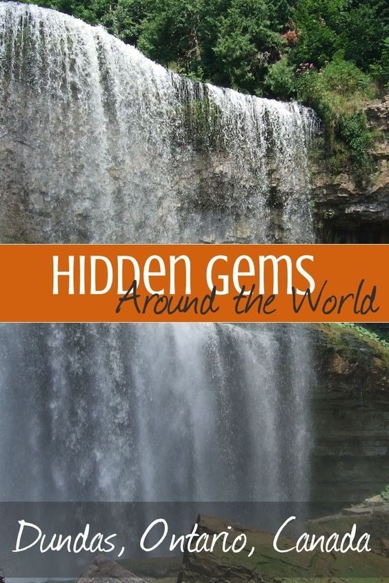 Dundas, Ontario is a nature-lover's dream, strewn with hiking and biking trails and spectacular waterfalls. An easy day trip from Toronto or Niagara Falls, Dundas is a true hidden gem in Ontario, Canada. #hiddengems #travel #wanderlust #canada
