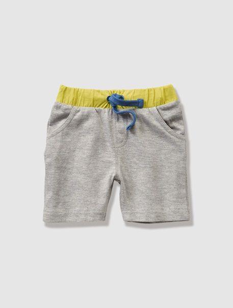 Baby Boy's Jersey Shorts Grey marl