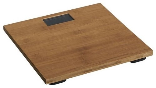 Bamboo Digital Bath Scale - asian - bath and spa accessories - donna