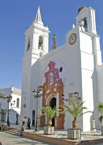 Almonte - Iglesia del Rocío, Huelva Spain                                                                                                                                                                                 Más