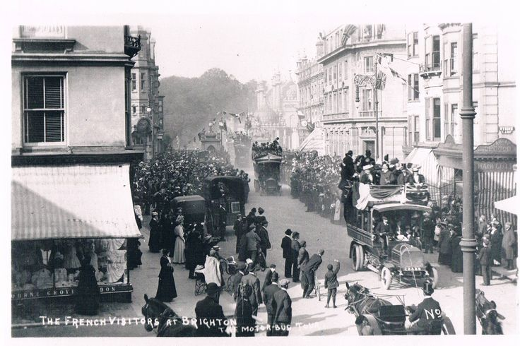 THE VISIT OF THE CALAIS MUNICIPAL BANDS TO BRIGHTON August 15th 1907