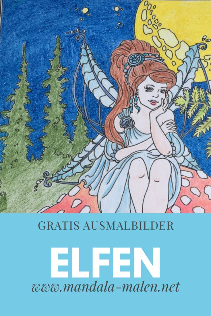 Gratis Ausmalbilder Winter : 14 Best Ausmalbilder Elfen Und Feen Images On Pinterest Colouring