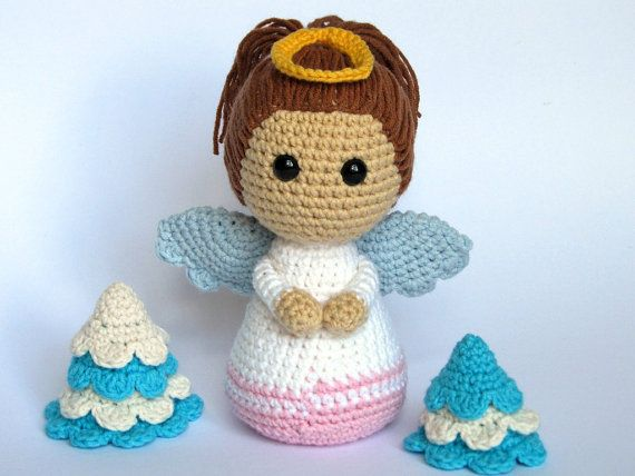 Little Angel Amigurumi Crochet Pattern / PDF eBook by DioneDesign, €4.00