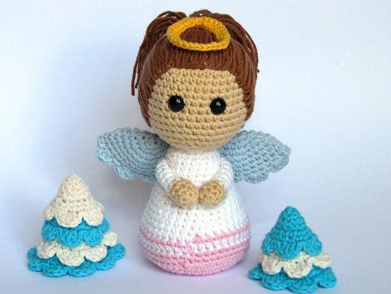 Little Angel Amigurumi Crochet Pattern / PDF eBook by DioneDesign, €4.00
