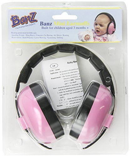 Noise canceling headphones for baby - great for plane rides when there are frequent LOUD announcements that could wake up a sleeping babe