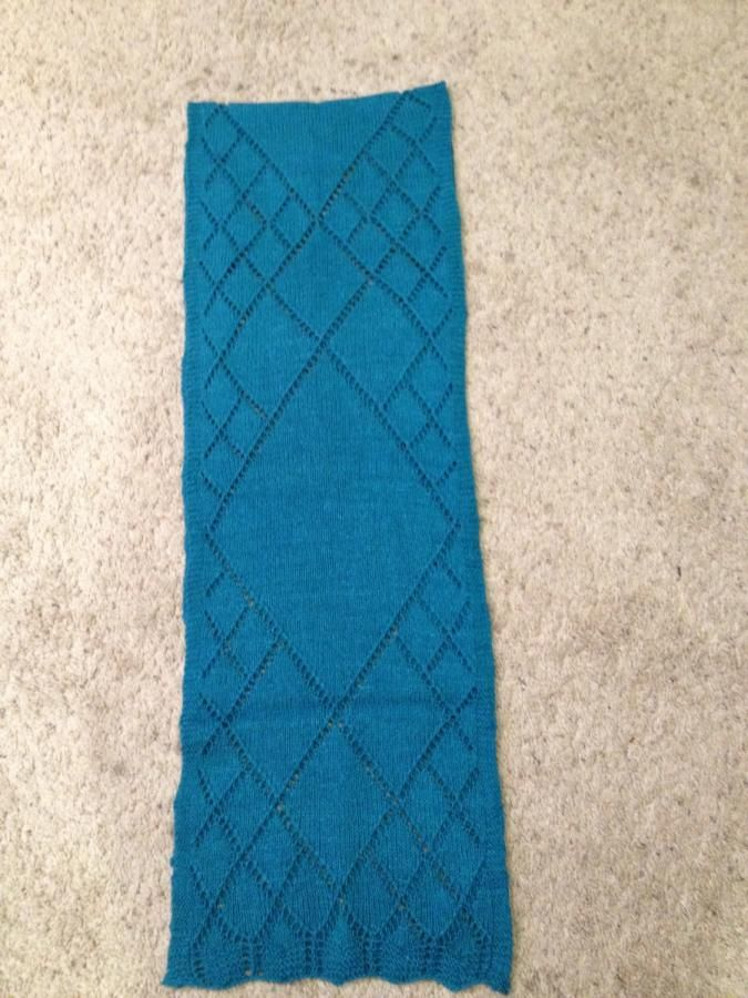 Scarf - Knitting creation by Genevareclaimed   Knit.Community