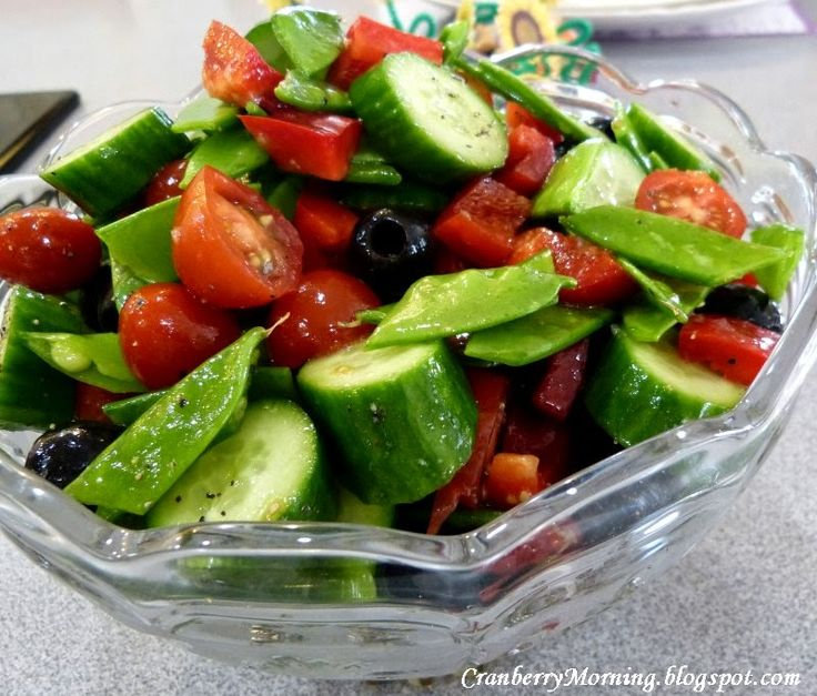 """I added """"Peapod and Cucumber Salad"""" to an #inlinkz linkup!http://cranberrymorning.blogspot.com/2015/04/new-grandkids-lemon-pies-peapod-and.html"""