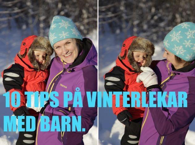 10 tips för vinterlek med barn