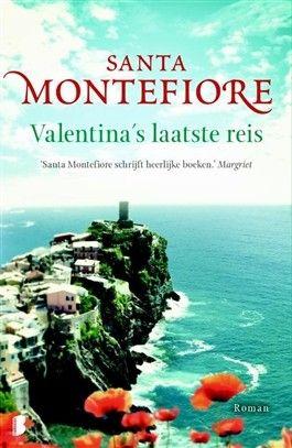 46/90 Gelezen juni 2016, vier sterren van mij! (B)(2012) Valentina's laatste reis - Santa Montefiore - BoekenTaske 5* - https://www.hebban.nl/boeken/valentinas-laatste-reis-santa-montefiore