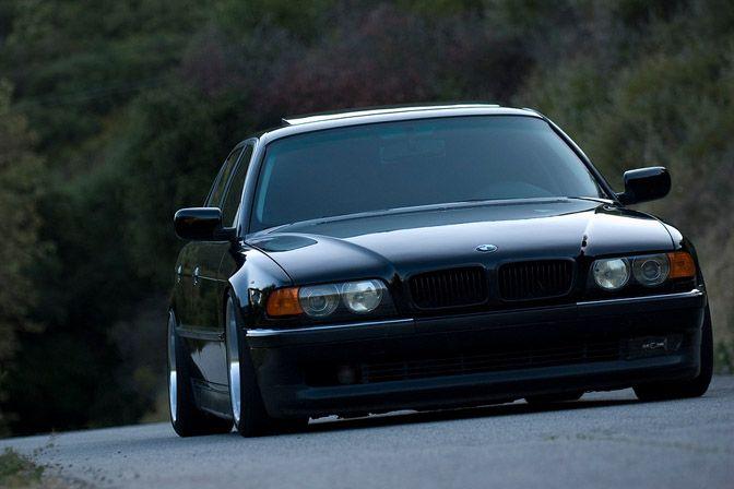 Stance e38 | E38 BMW 740iL Dumped Dumped Dumped! » BMW-e38-740i-745-slammed-sedan ...
