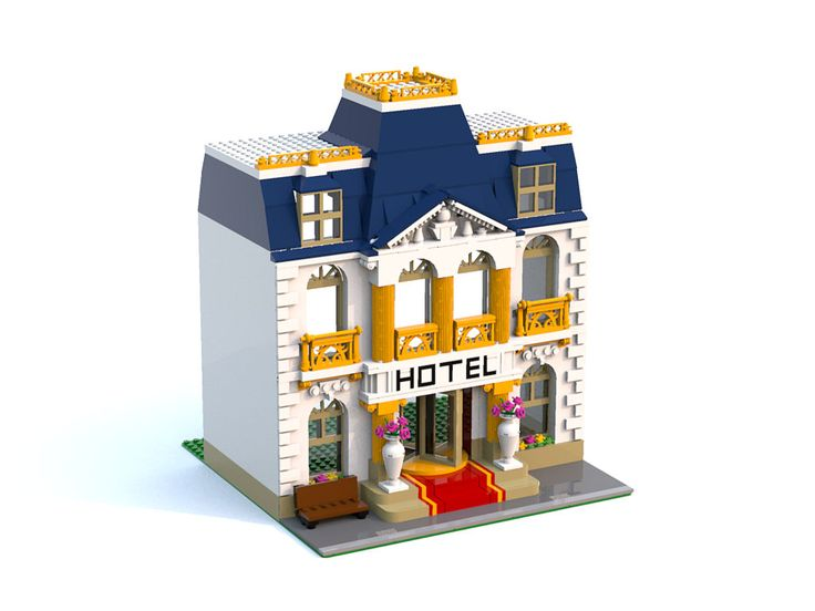 Heartlakes Grand Hotel   A little modular building inspired …   Flickr