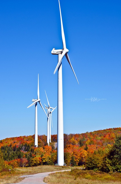 Wind generators for electrical power are simple to produce from home by using either a kitset or specific components bought on the web. http://netzeroguide.com/windmills-for-electricity.html WV Potomac Highlands Windmills 2