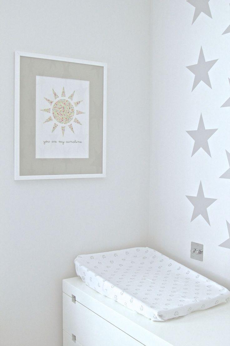 """You Are My Sunshine"" Etsy art. Simply stated.   Nursery Design by Blank Slate Studio.  Email: hello@blankslatestudio.com"