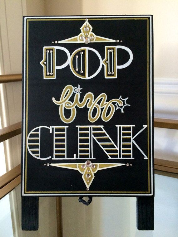 Having a Roaring Twenties themed or Great Gatsby wedding?! Want to add some glitz, glamour, and that chic extra touch to your evening party event?!