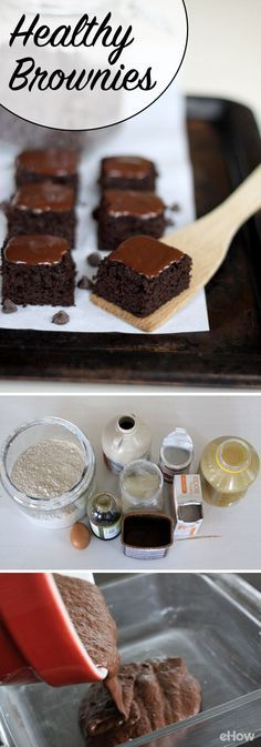 A guilt-free brownie is finally here! This recipe uses healthier ingredients like applesauce and coconut oil in place of butter! Results? Totally delicious, chocolaty brownies! Recipe here: http://www.ehow.com/how_5149090_make-healthy-brownies.html?utm_source=pinterest.com&utm_medium=referral&utm_content=freestyle&utm_campaign=fanpage