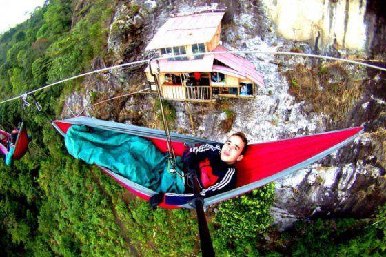 Colombia - Aventura en la casa en el aire en el dpto. de Antioquia.