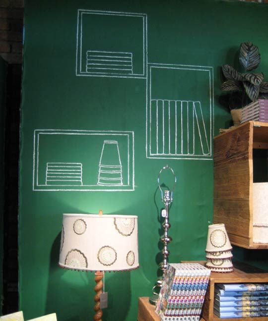 Flickr Finds: Magnetic Chalkboard Wall | Apartment Therapy