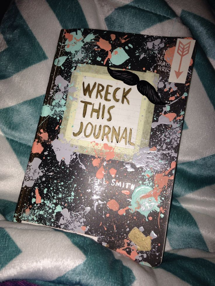 Wreck This Journal Book Cover Ideas : Wreck this journal cover ideas make up nails hair and