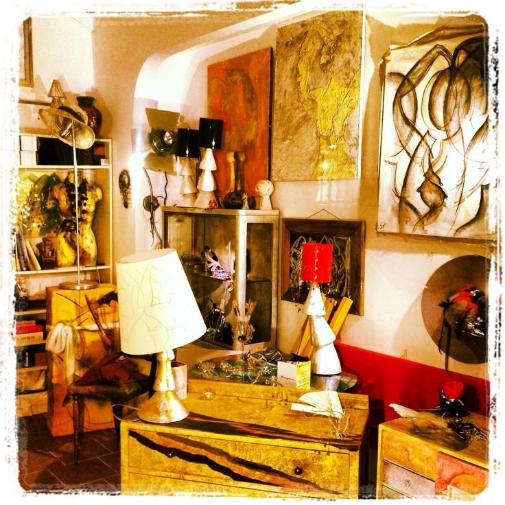 My studio in Rome-italy