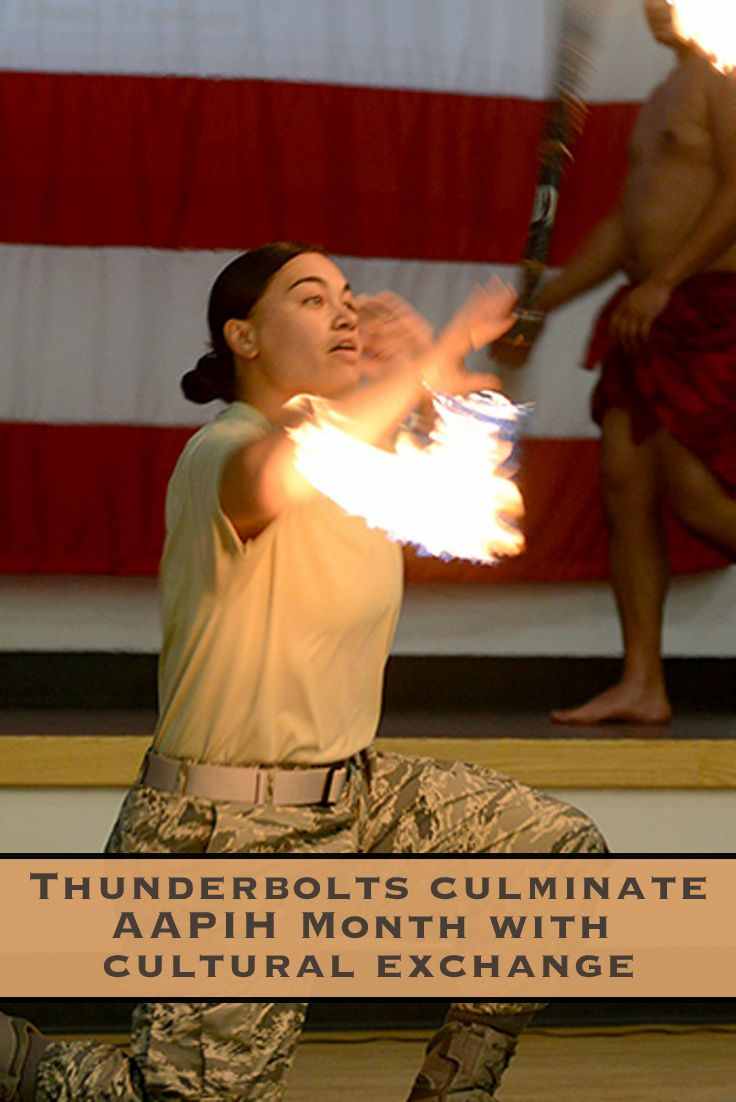 """""""This month is about getting everyone together to share their heritage and to teach others what their heritage is,"""" said Tech. Sgt. Beverly Lawrence. You can't go wrong in a celebration with fire dances, read about how Asian-American, Pacific Islander Heritage Month was celebrated. Business owners learn how to get your print and digital ads alongside stories like this. Call 661 945-5634 today!"""