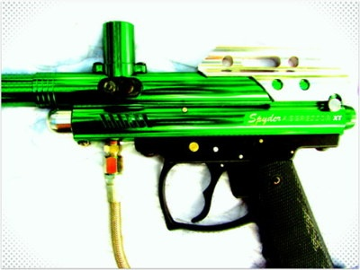 how to make a paintball bow