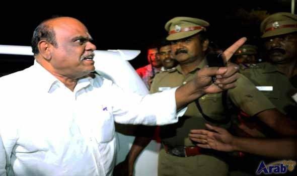Retired High Court judge Karnan arrested from Tamil Nadu resort