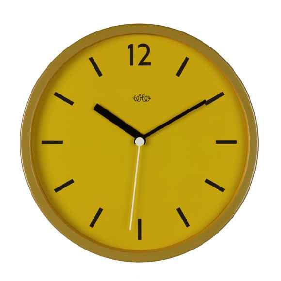 Howkapow - mustard wall clock