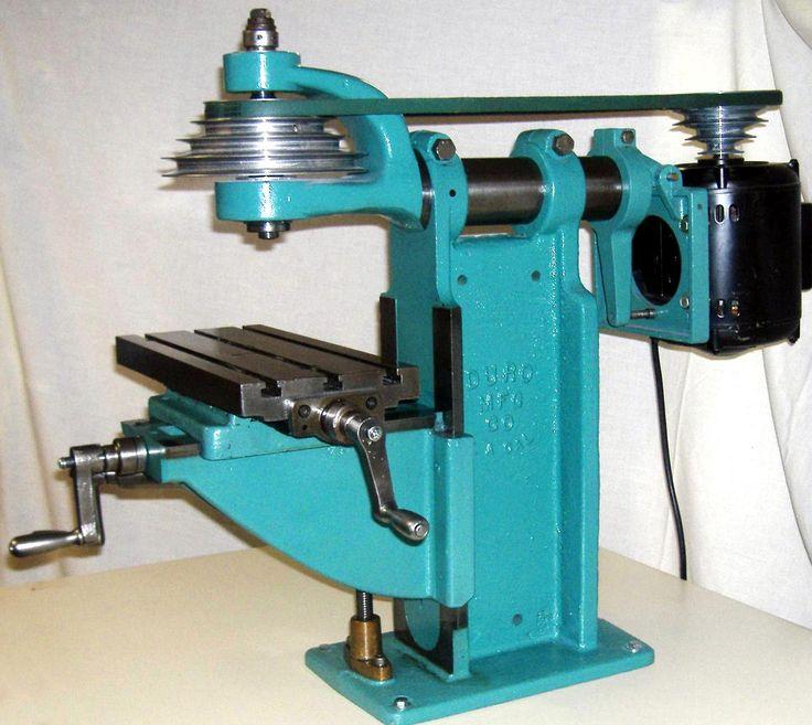 Duro Amp Benchmaster Milling Machines Vintage Machines