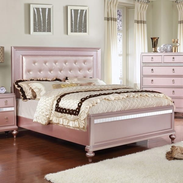 Overstock Com Online Shopping Bedding Furniture Electronics Jewelry Clothing More Rose Gold Bedroom Bedroom Furniture Sets Gold Bedroom