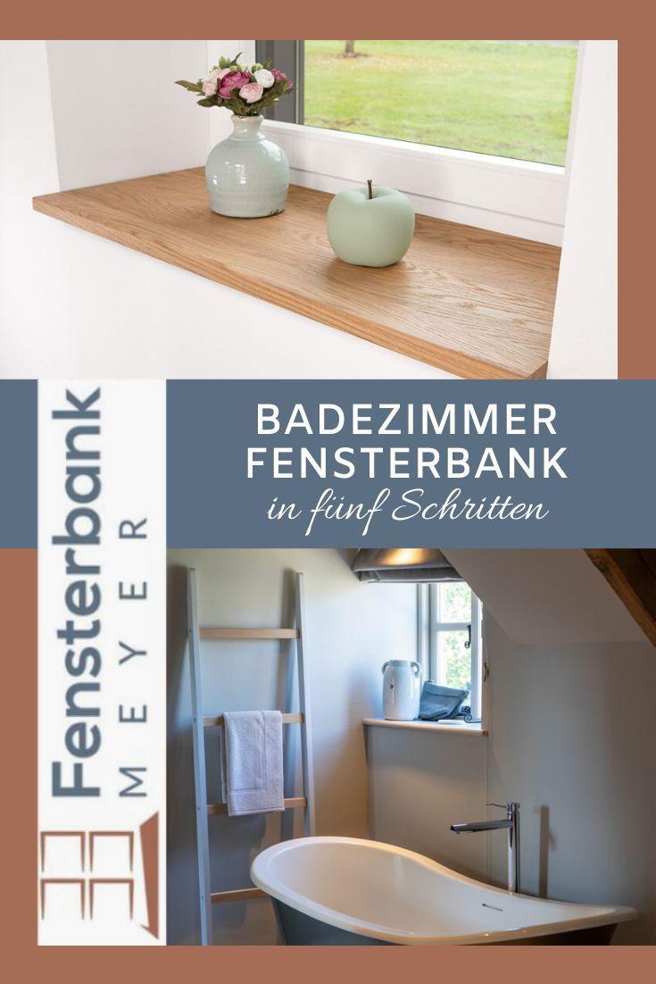Badezimmer Fensterbank In Fnf Schritten Finden Home Home Decor Bath Mat