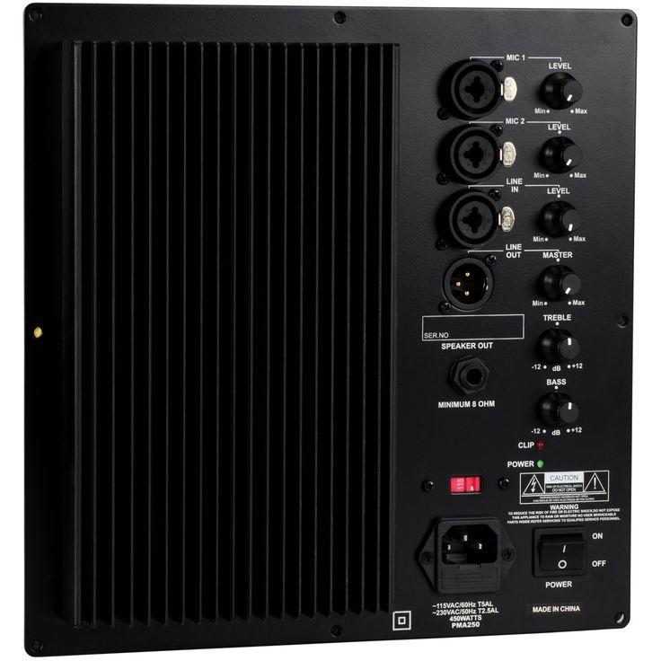Dayton Audio PMA250 250W PA Amplifier Module with Mixer