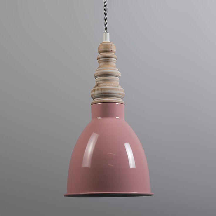 Hanglamp Oak roze