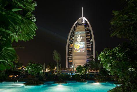 #saudiarabiabusiness #MyDubai moments to be projected on Burj Al Arab's sail #middleeastbusinessnews http://goo.gl/6Qn65o