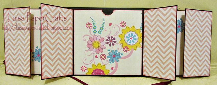Luisa PaperCrafts: Flip Flap Mini Album