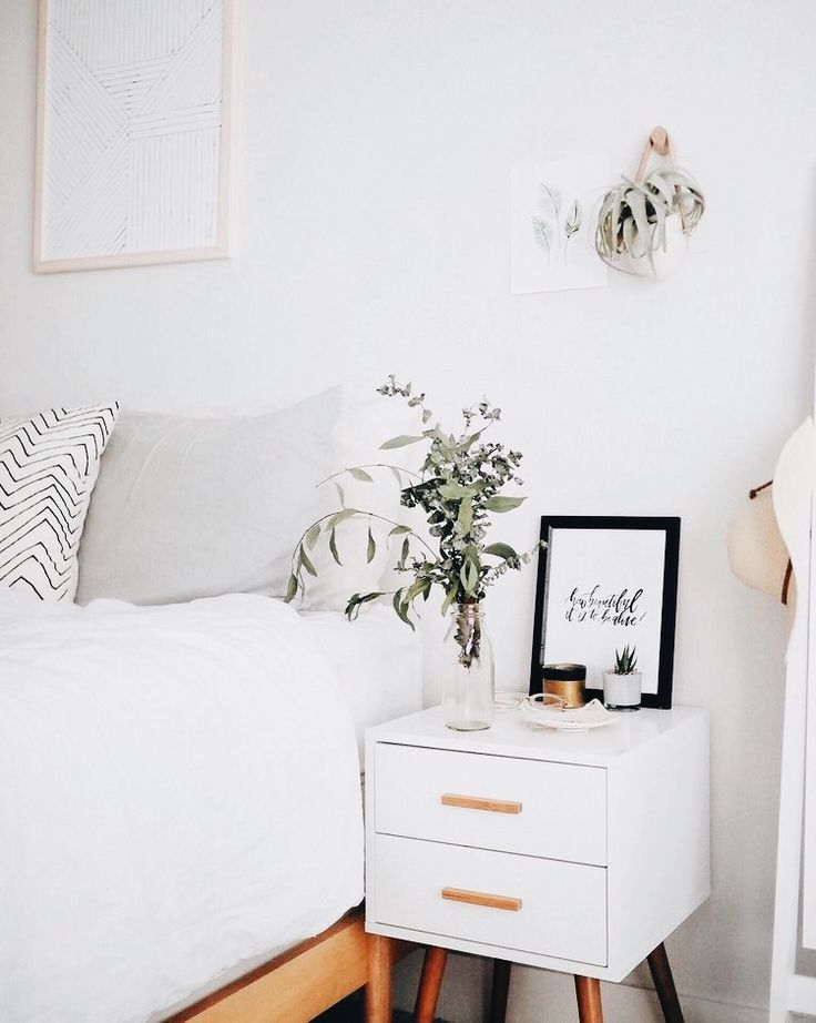 adorable + feminine | bedroom decor, nightstand, home inspiration, house, living space, room, scandinavian, nordic, inviting, style, comfy, minimalist, minimalism, minimal, simplistic, simple, modern, contemporary, classic, classy, chic, girly, fun, clean aesthetic, bright, white, pursue pretty, style, neutral color palette, inspiration, inspirational, diy ideas, fresh, stylish, 2017, sophisticated