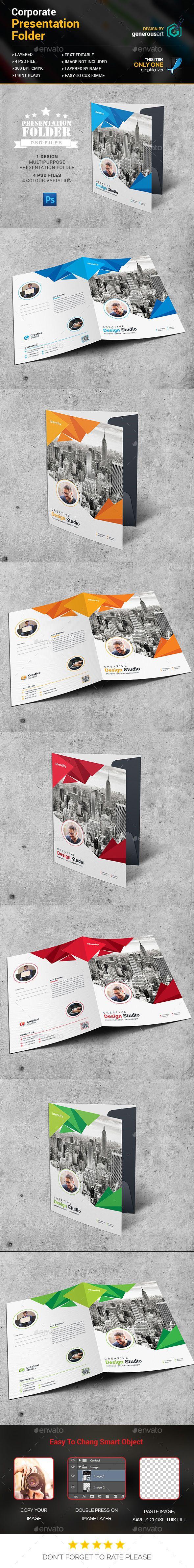 Best Presentation Folder Images On Pinterest Flyer Design - Fresh presentation folder template psd design