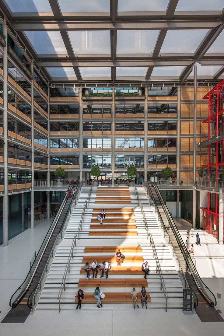 Brent Civic Centre by Hopkins Architects. Photo: Morley Von Sternberg