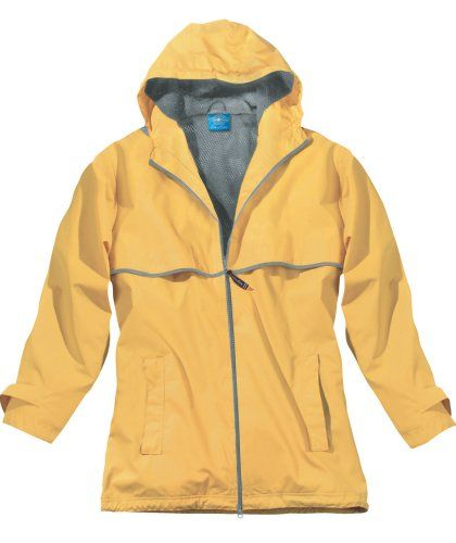 Charles River Apparel Women's New Englander Rain Jacket for only $35.95 You save: $17.15 (32%)