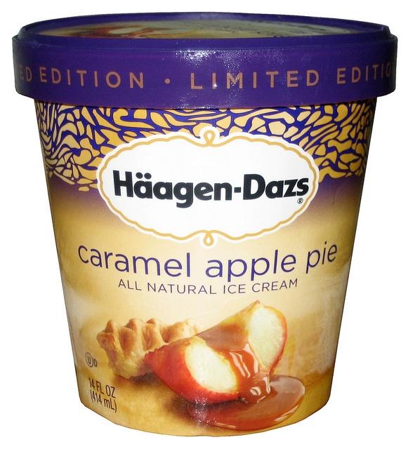 Haagen Dazs Caramel Apple Pie - BEST ICE CREAM EVER