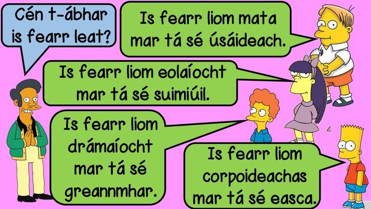 Ar Scoil: Simpsons PowerPoint – Mash.ie