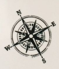 compass tattoo design (small)