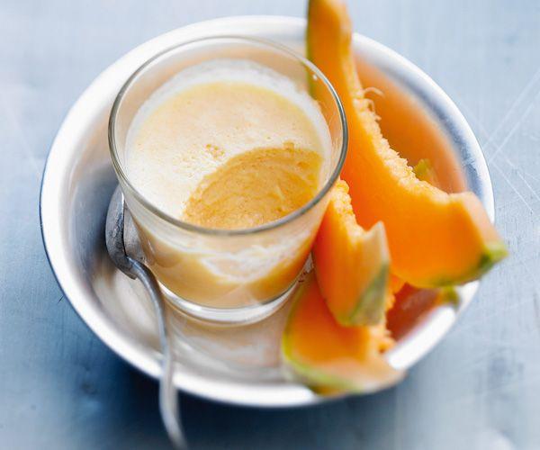 Dessert léger : Mousse de melon