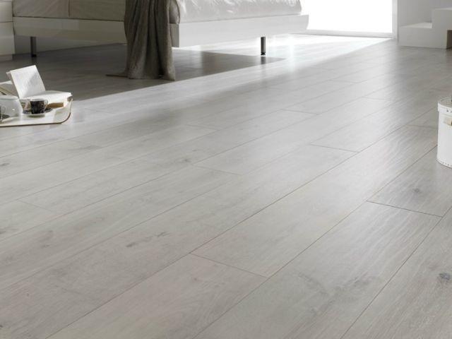 modernes design wohnung laminat fußboden grau weiss hell LEGNOPAN