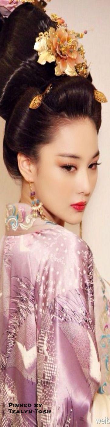 This beautiful woman radiates elegance...