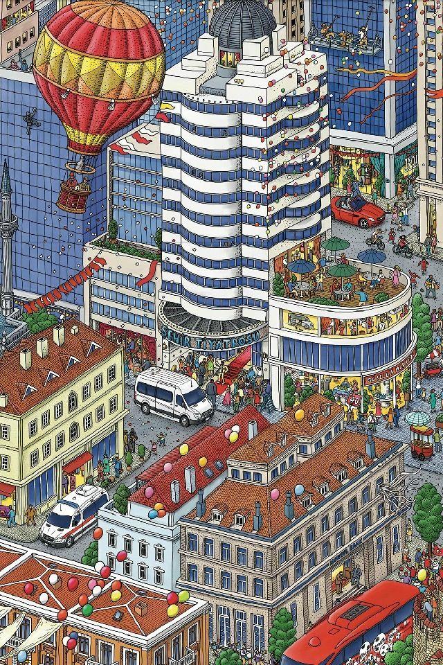 Illustration by  IC4DESIGN Studio / Japan