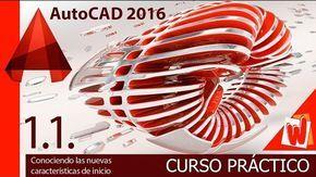 Un completo curso gratuito de AutoCAD con más de 90 vídeos en español para aprender a utilizar esta poderosa herramienta.