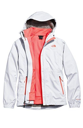 The North Face 'Momentum' TriClimate® 3-in-1 Jacket | Nordstrom. Love this! Wear the coral liner alone for workout or riding and add the waterproof windbreaker for cold or wet days.