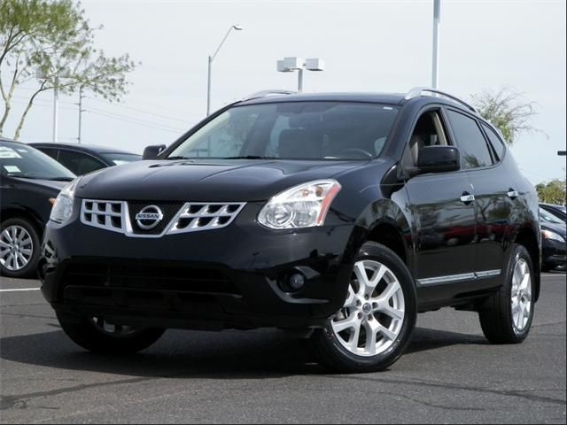 2011 Nissan Rogue SV SV 4dr Crossover Wagon 4 Doors Super Black for sale in Peoria, AZ Source: http://www.usedcarsgroup.com/used-nissan-rogue-for-sale